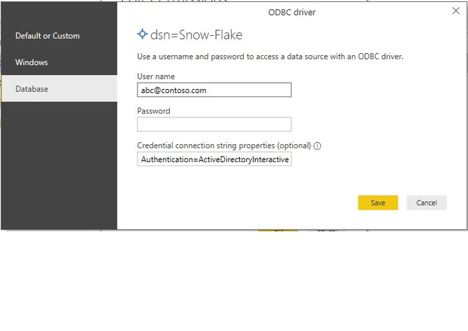 how do we connect to snowflake from Power BI desktop ? We have setup